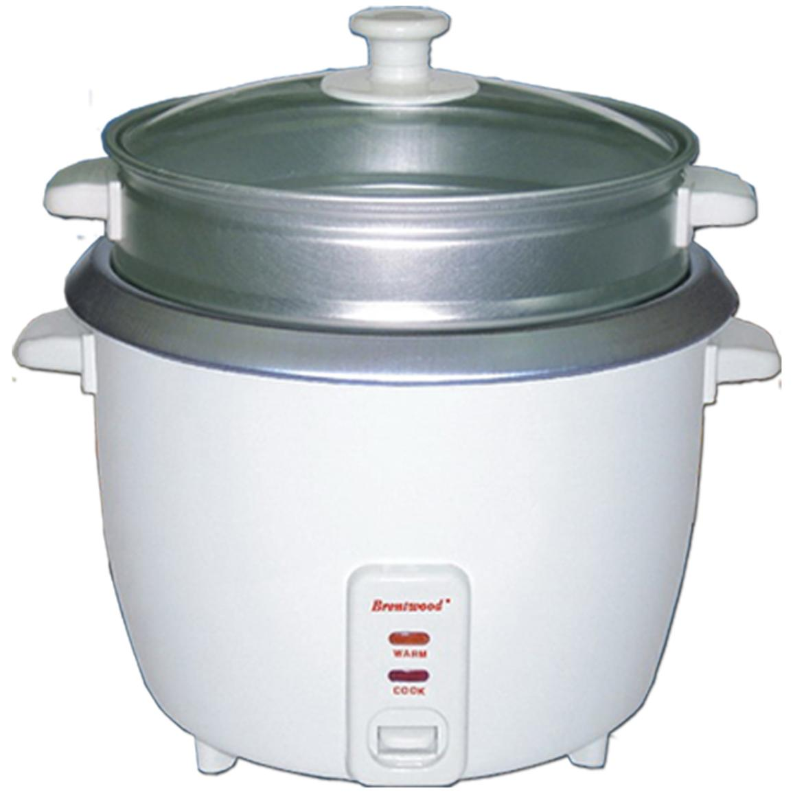 10-cup Rice Cooker with Steamer
