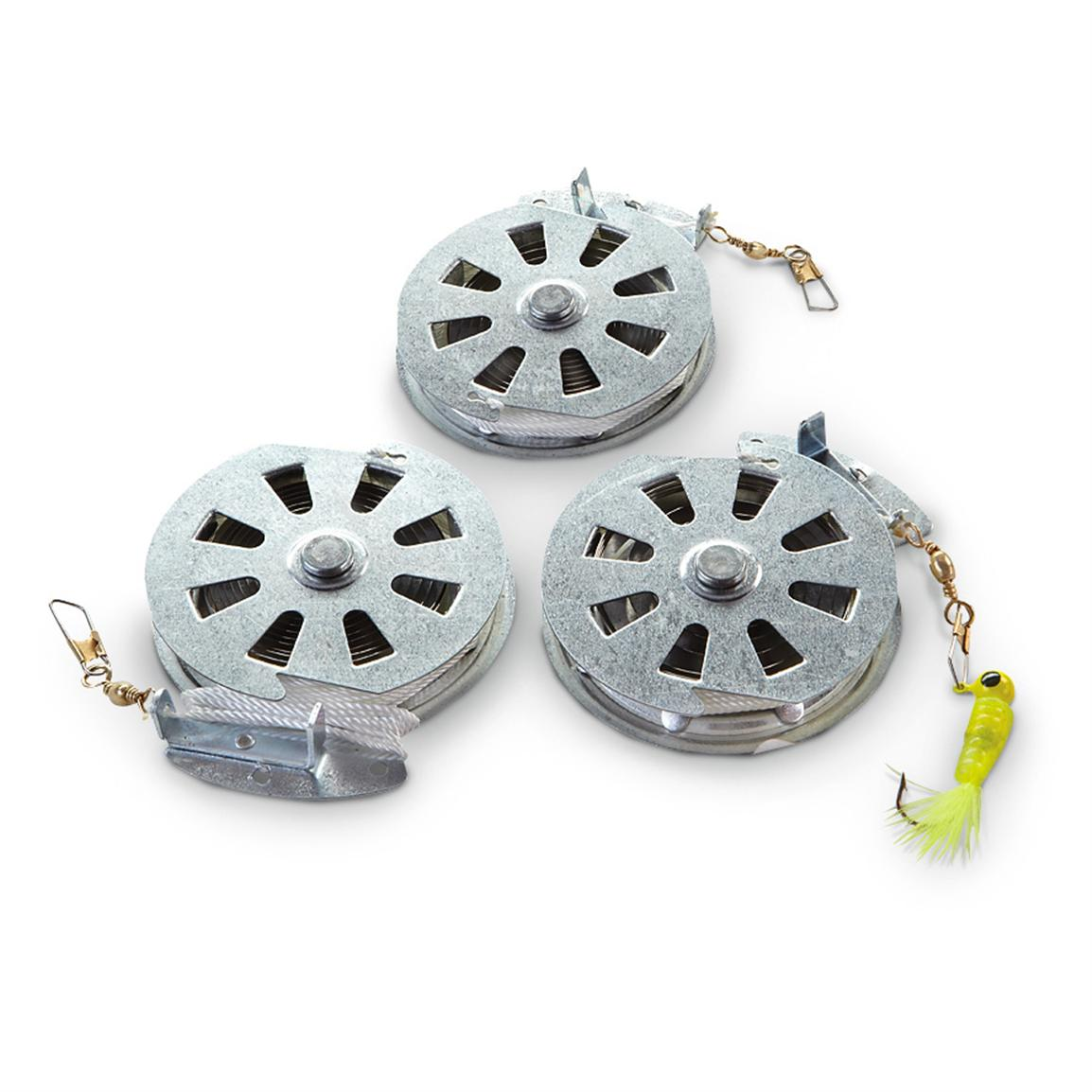 Yo-Yo Auto Fishing Reels, 12 Count