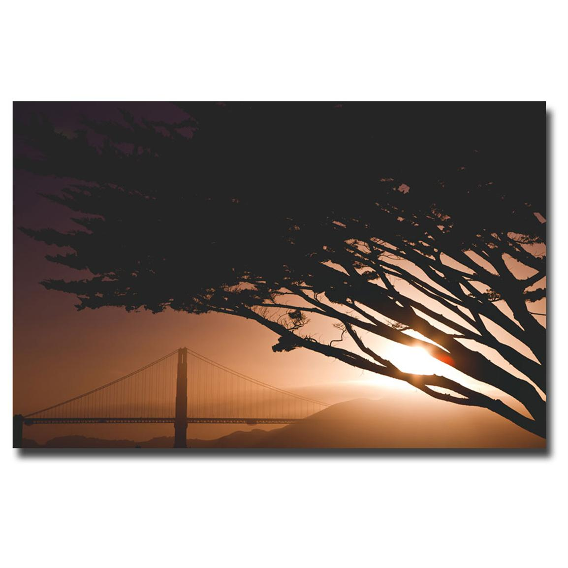"""Golden Gate Safari"" Canvas Art by Ariane Moshayedi"