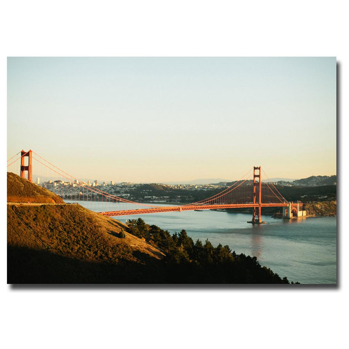 """Golden Gate Bridge"" Canvas Art by Ariane Moshayedi"