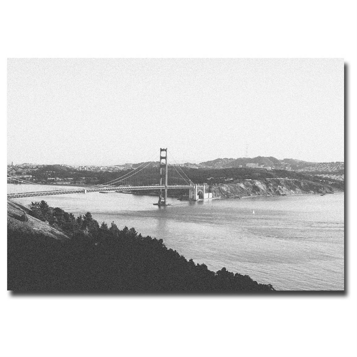 """Vintage Golden Gate Bridge"" Canvas Art by Ariane Moshayedi"