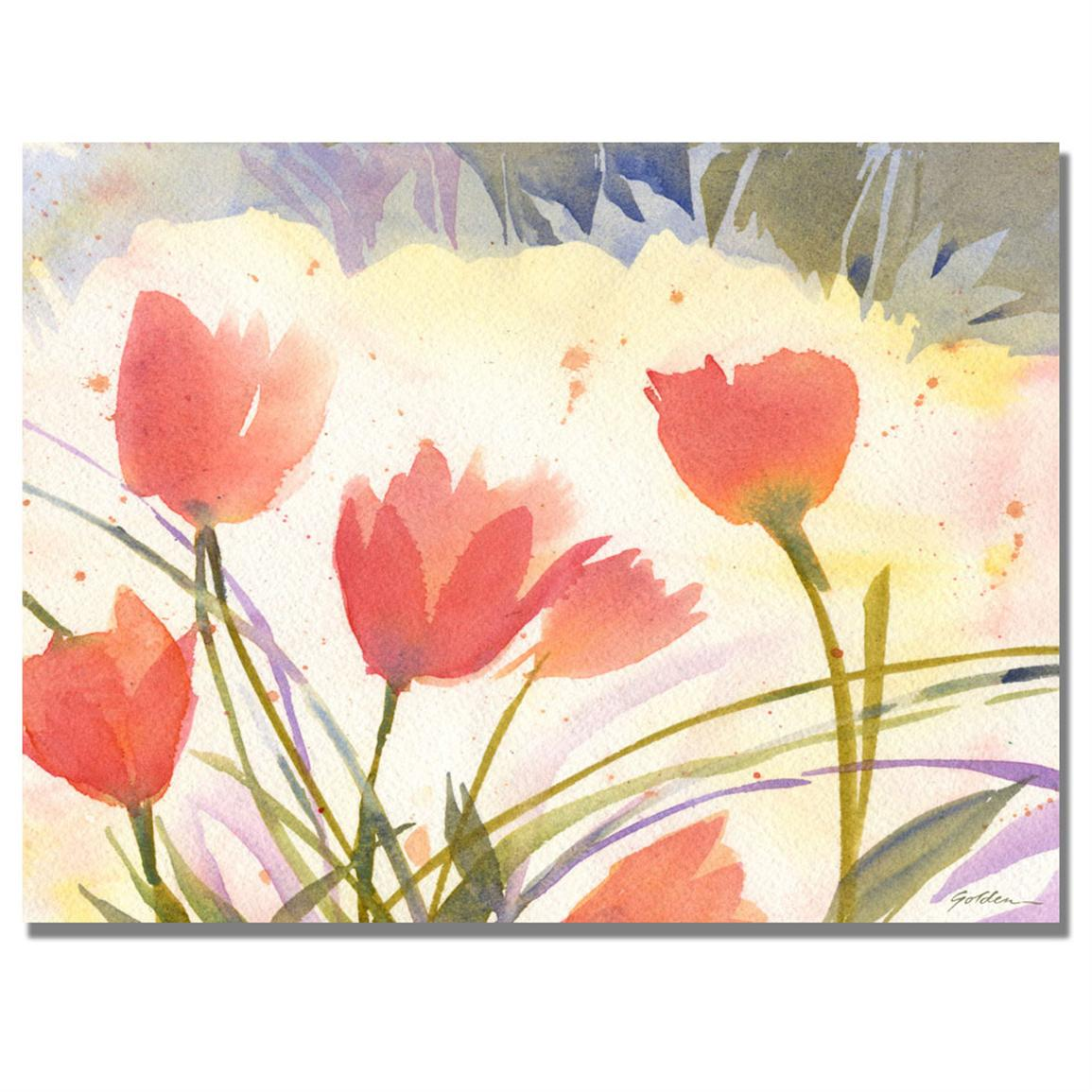 """Spring Song"" Canvas Wall Art by Shelia Golden"