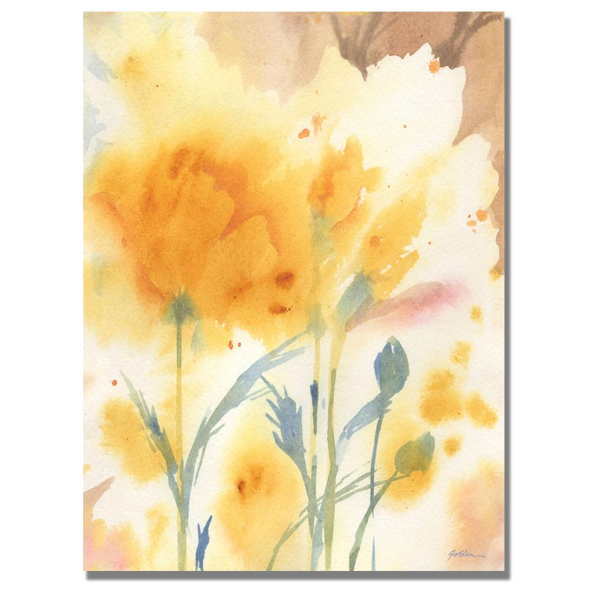 """Golden Poppies"" Canvas Wall Art by Shelia Golden"