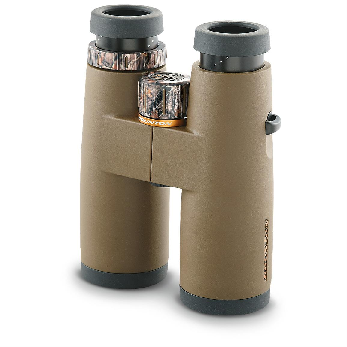 Brunton® Icon 8x44mm Binoculars, Brown with Lost Camo Accents