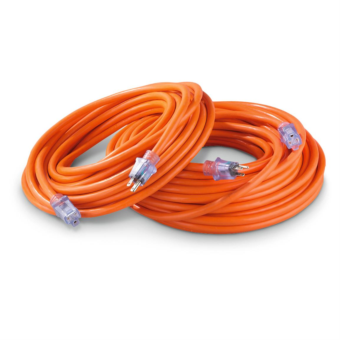 Century® Pro Style™ 10/3 Extension Cord with Lighted Ends