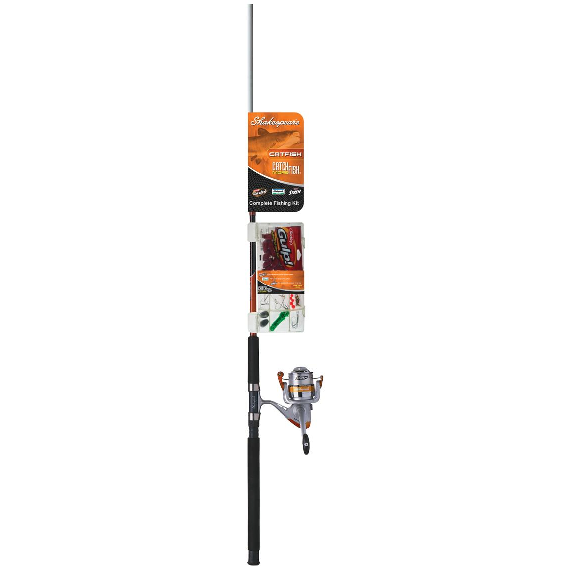 Shakespeare® Catch More Fish Catfish Rod & Reel Combo