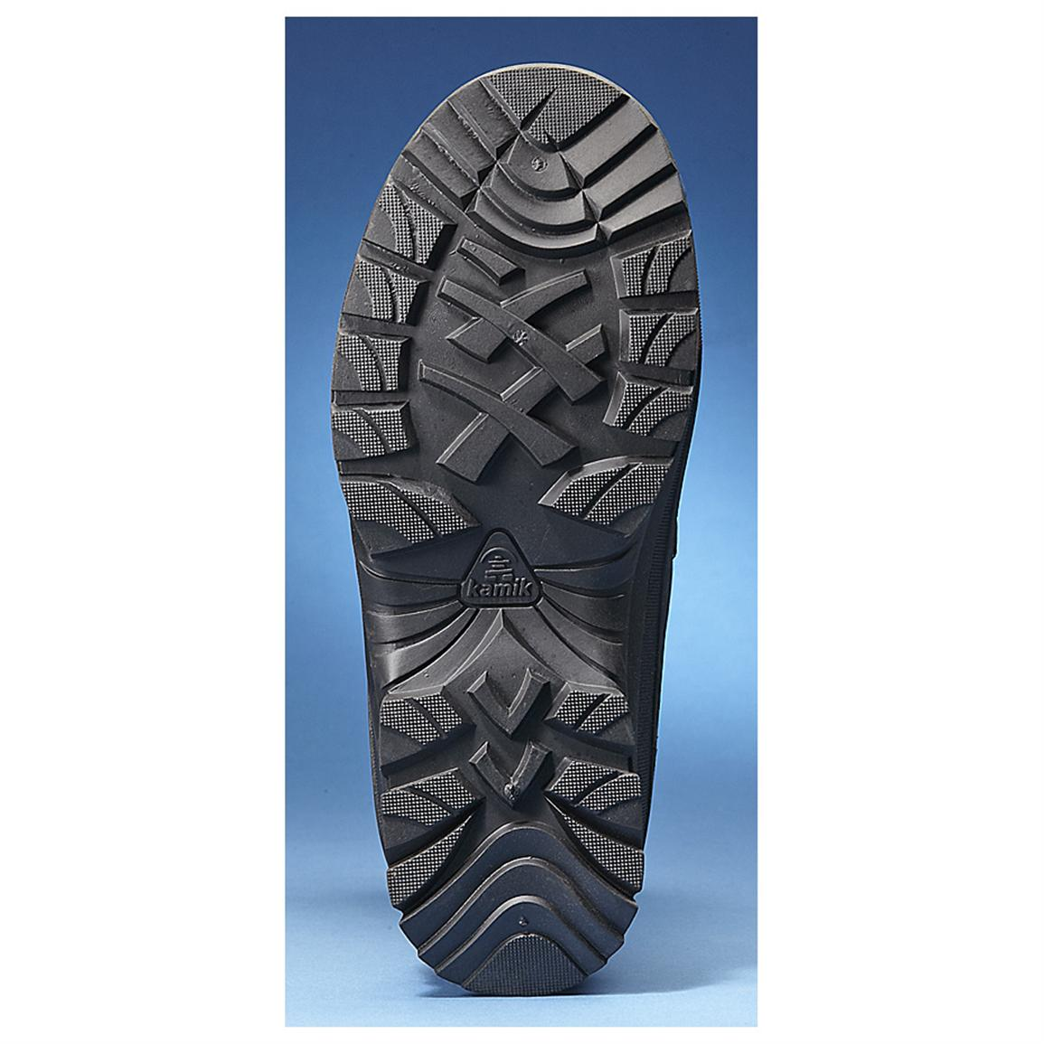 Rubber outsole provides tremendous traction