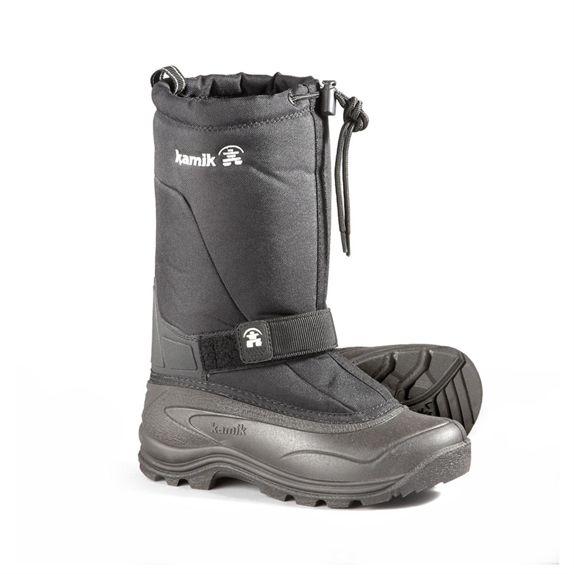 Women's Kamik® Greenbay 4 Waterproof Pac Boots, Black