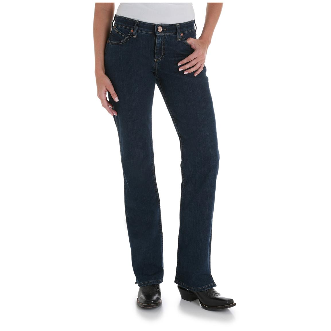 Women's Wrangler® Cowgirl Cut® Ultimate Riding®  Jeans, Q-Baby™ Fit with Vented Boot Cut, Blazin' Buckshot