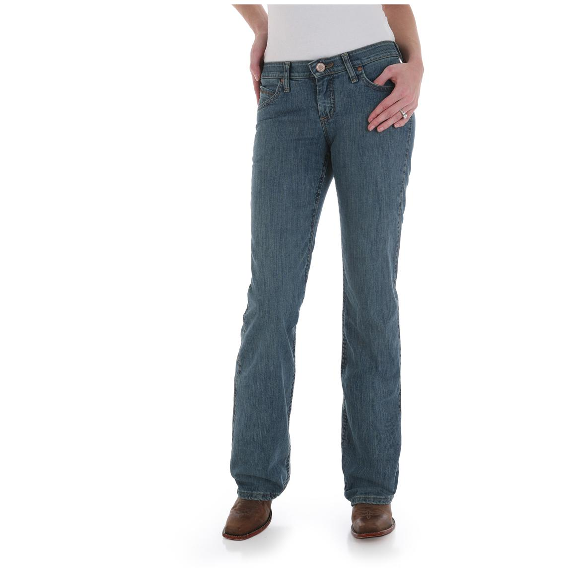 Women's Wrangler® Cowgirl Cut® Shiloh Ultimate Riding® Jeans, Flame to Fame