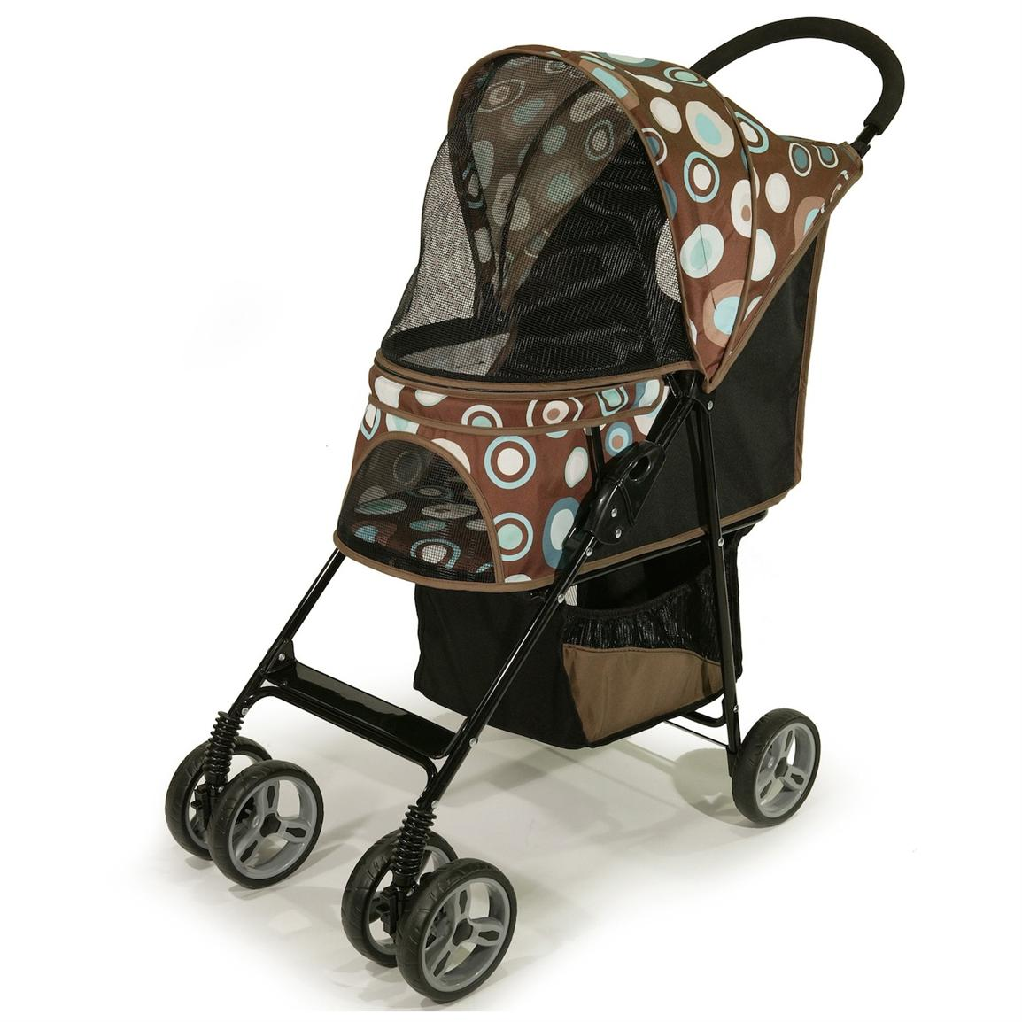 Gen7Pets™ Journey™ Pet Stroller, Blue Bonnet Front