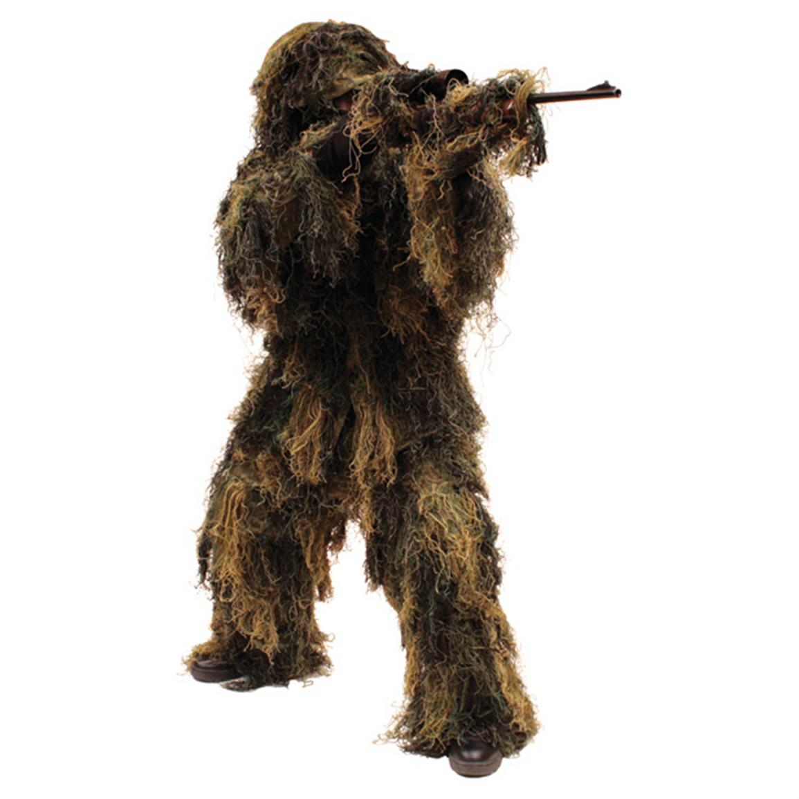 Red Rock Outdoor Gear™ 5-Pc. Woodland Camo Ghillie Suit