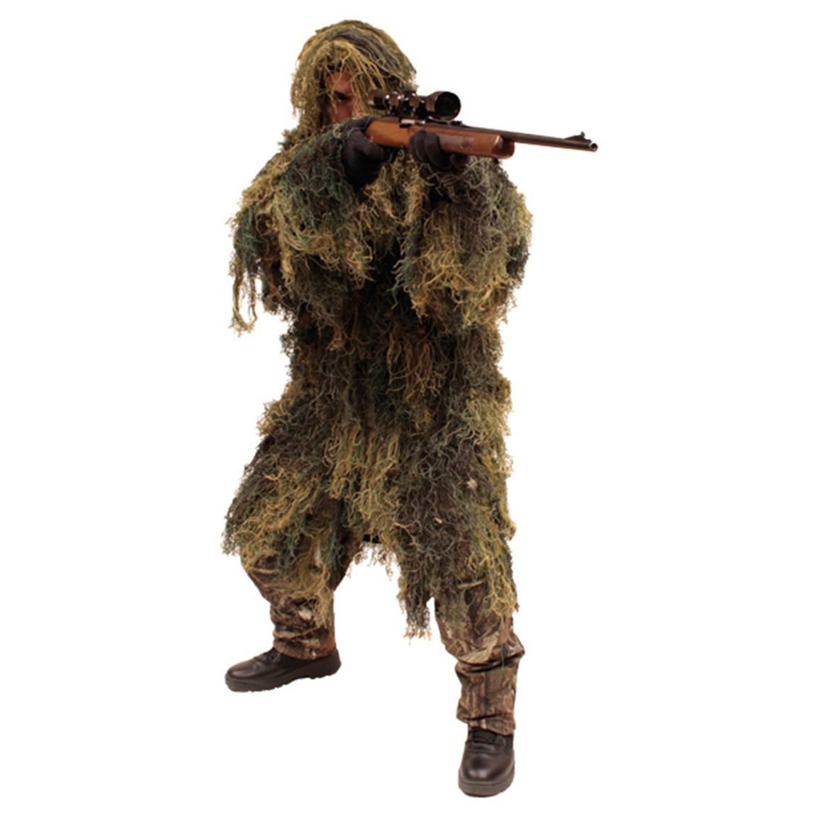 Red Rock Outdoor Gear™ Ghillie Parka, Woodland