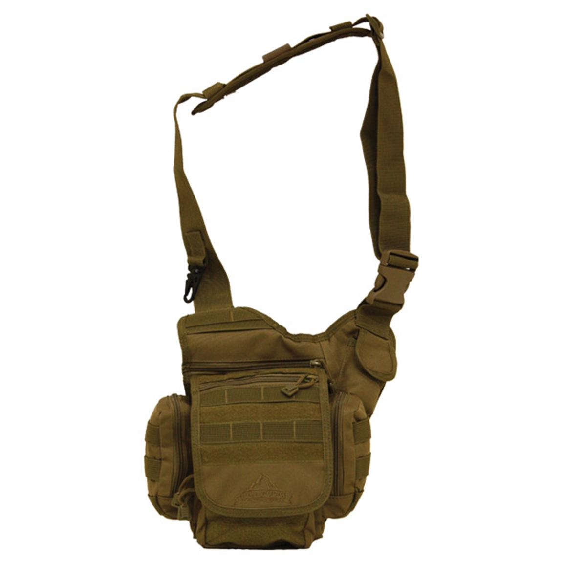 Red Rock Outdoor Gear™ Nomad Sling Bag, Coyote