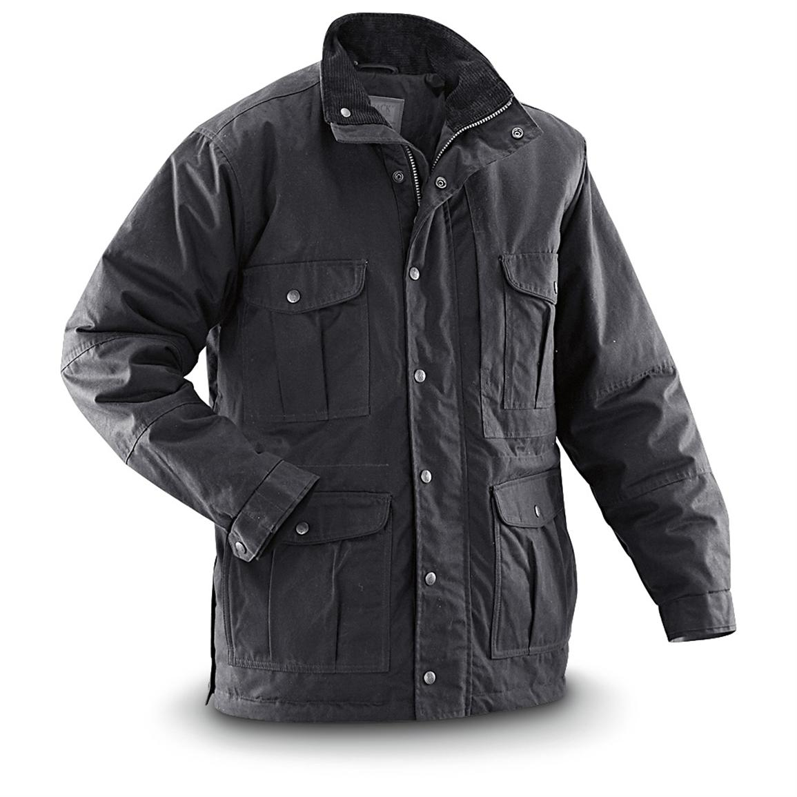 Outback Trading Company Conceal and Carry Buranda Jacket, Black