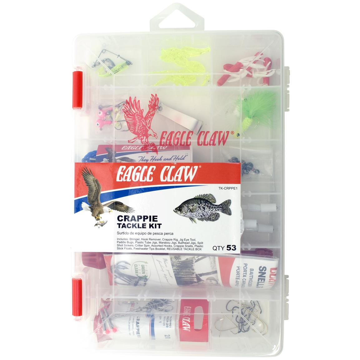 Eagle Claw® TK-CRPPE1 EC Fishing Kit, Crappie