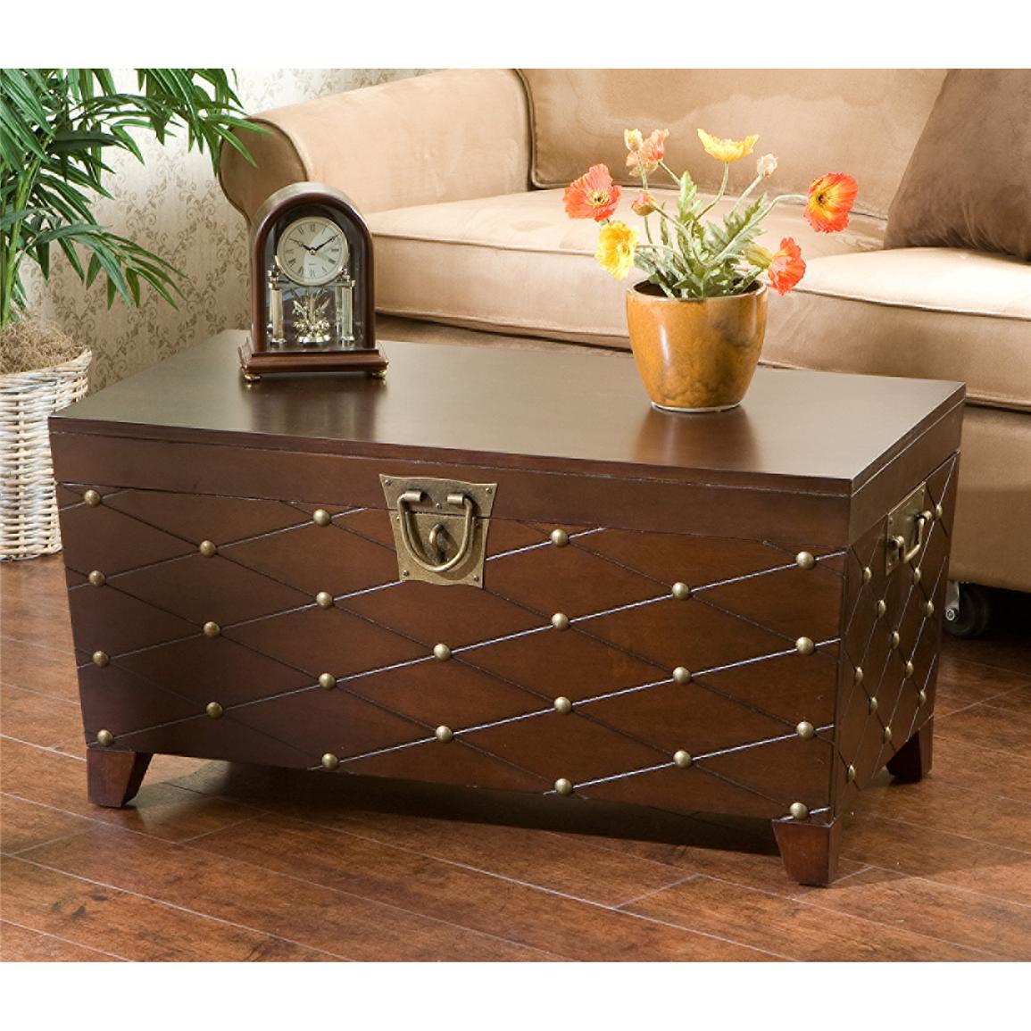 Caldwell Trunk Cocktail Table, Espresso