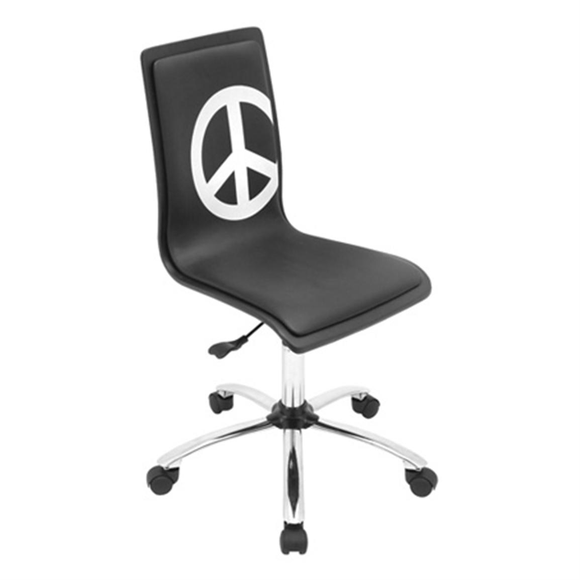 LumiSource Printed Peace Computer Chair