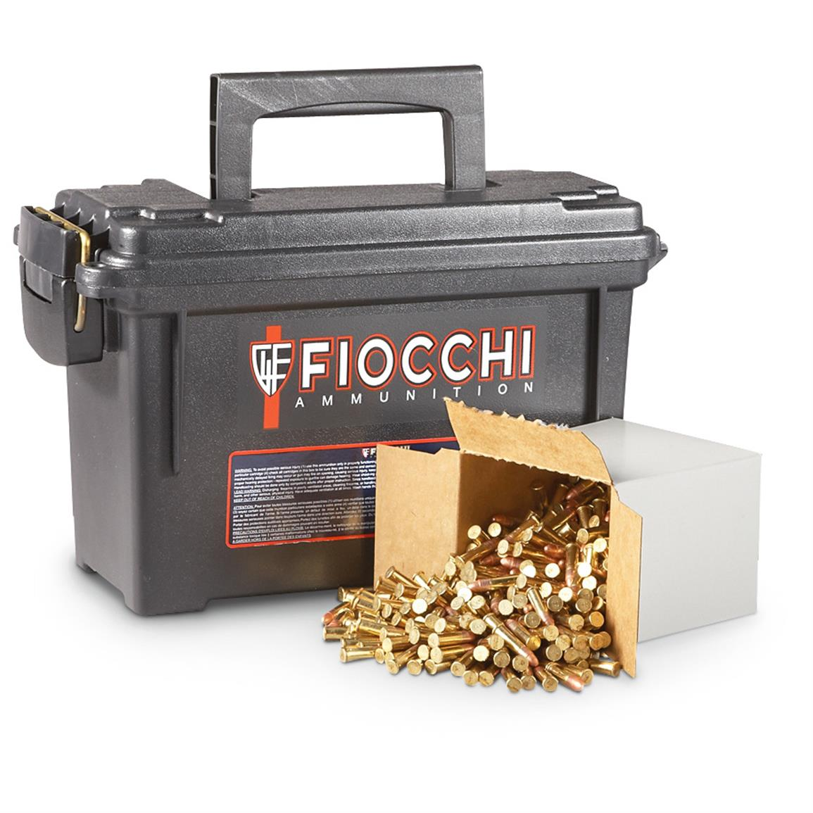 1,575 rds. Fiocchi® .22LR 40 Grain Plated Lead Round Nose Bullet