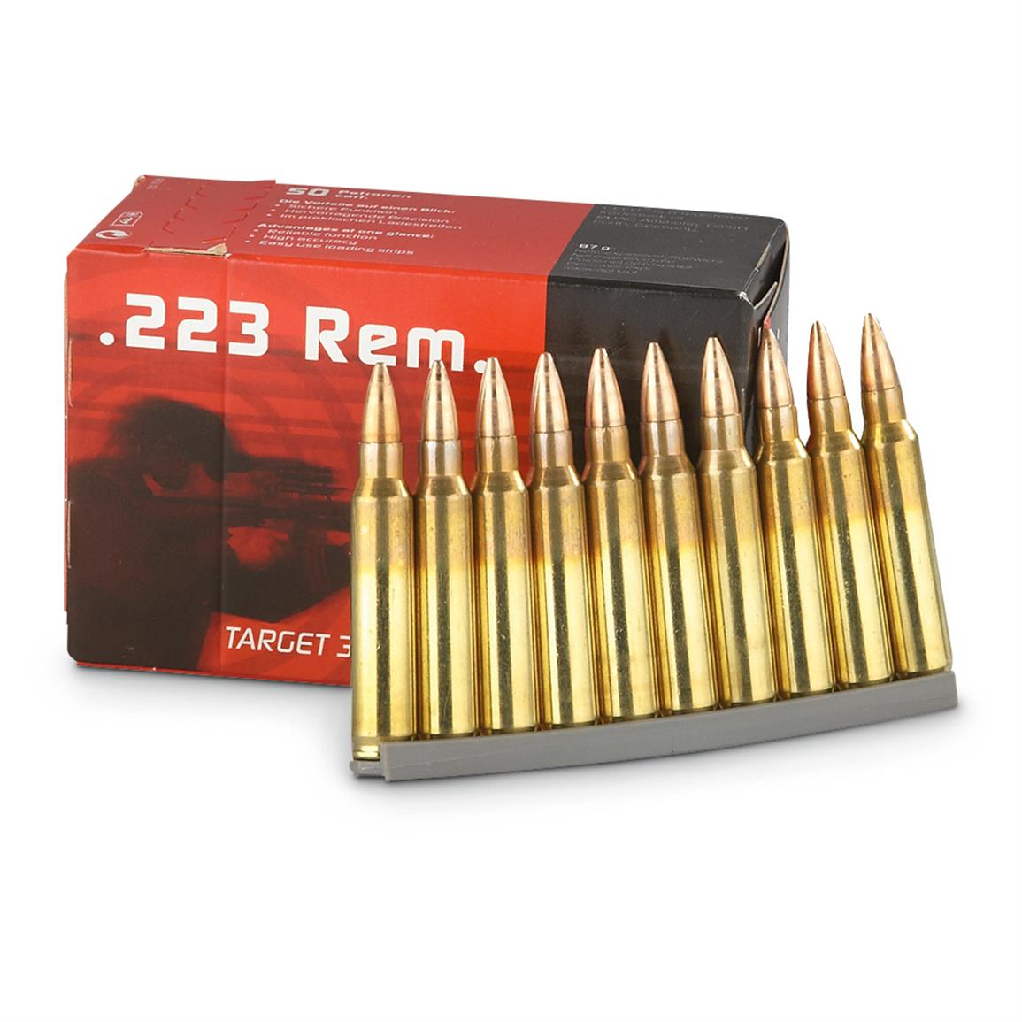geco 223 remington fmj 55 grain 500 rounds 300806 223
