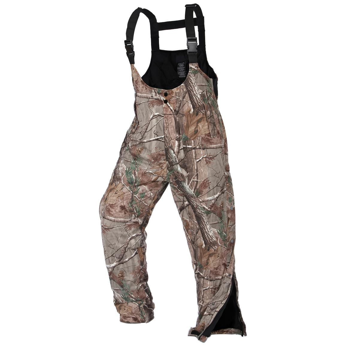 Onyx ArcticShield® Pro Series Waterproof Hunting Bib Overalls with X-System™ Lining, Realtree® AP™