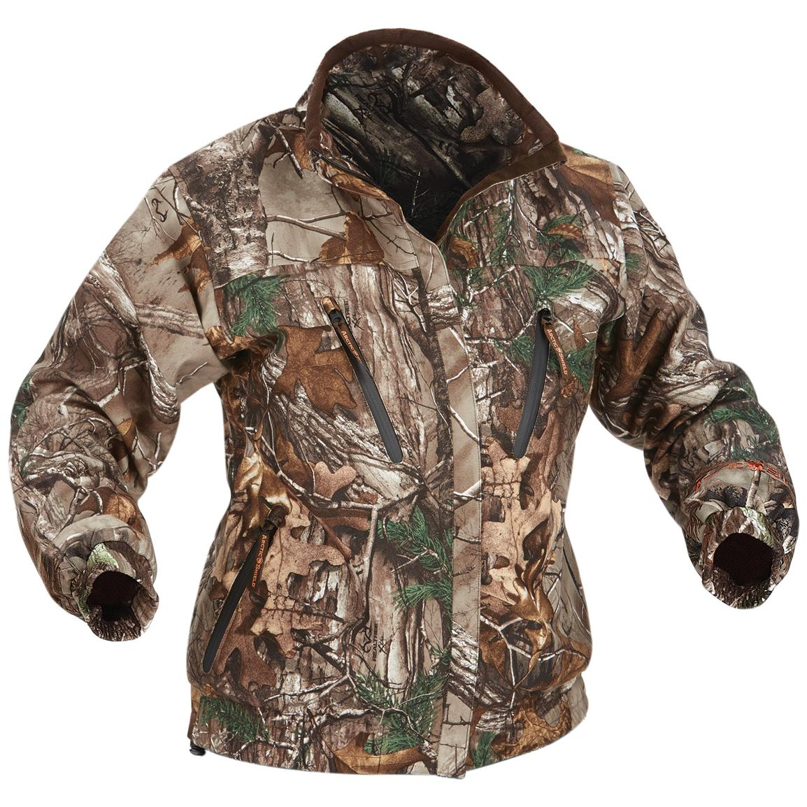 Women's Onyx ArcticShield® Light Waterproof Hunting Jacket, Realtree® Xtra™