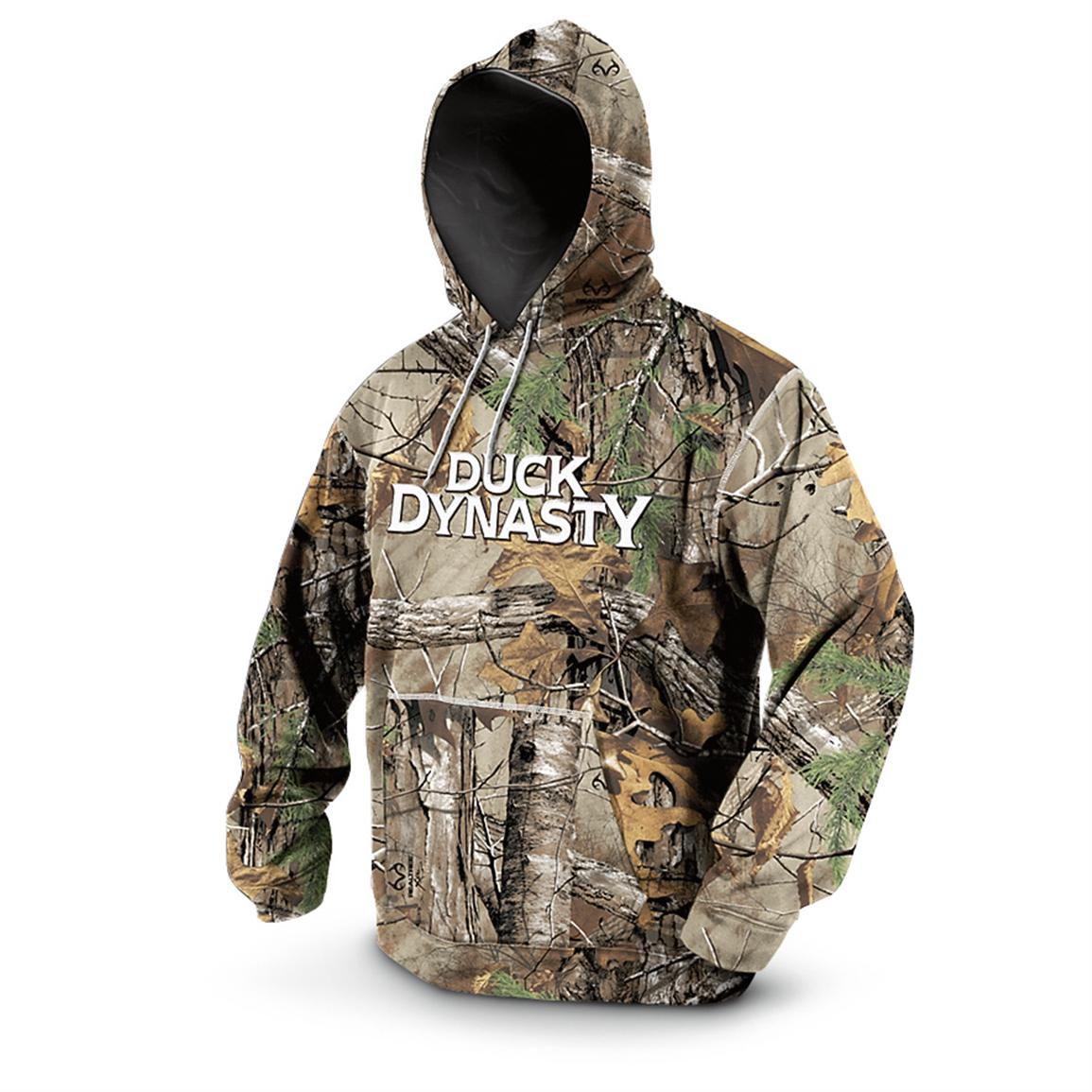 Duck Dynasty® Pullover Hoodie, Realtree Xtra®