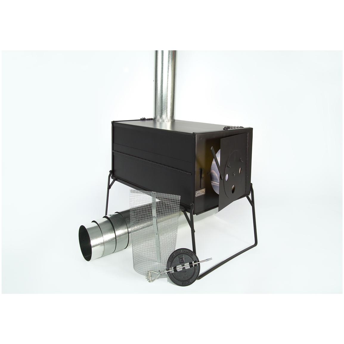 Colorado Cylinder Stoves™ Uncompahgre Collapsible Pack Stove
