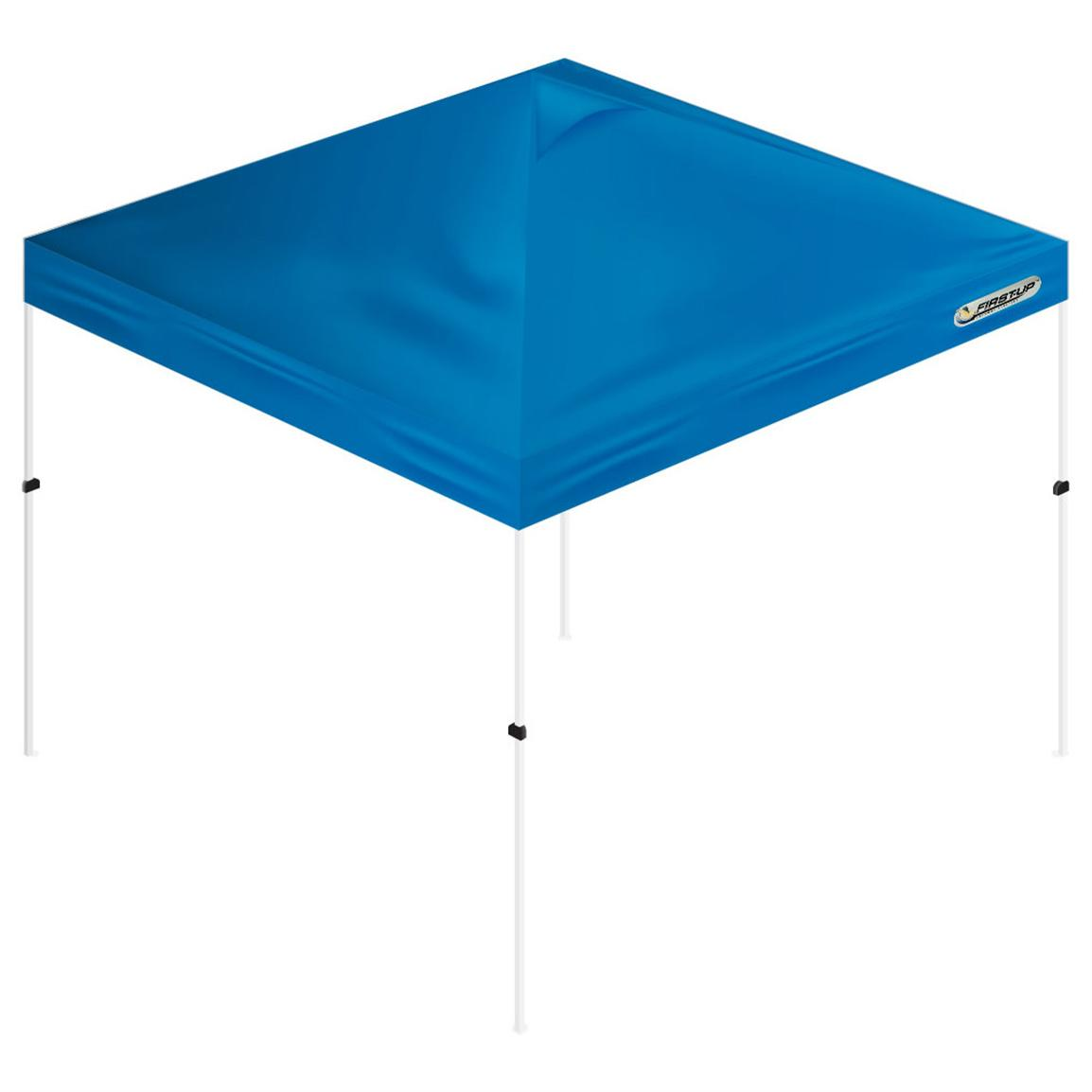 First-Up™ 10x10' Gazebo Tent Canopy, Blue