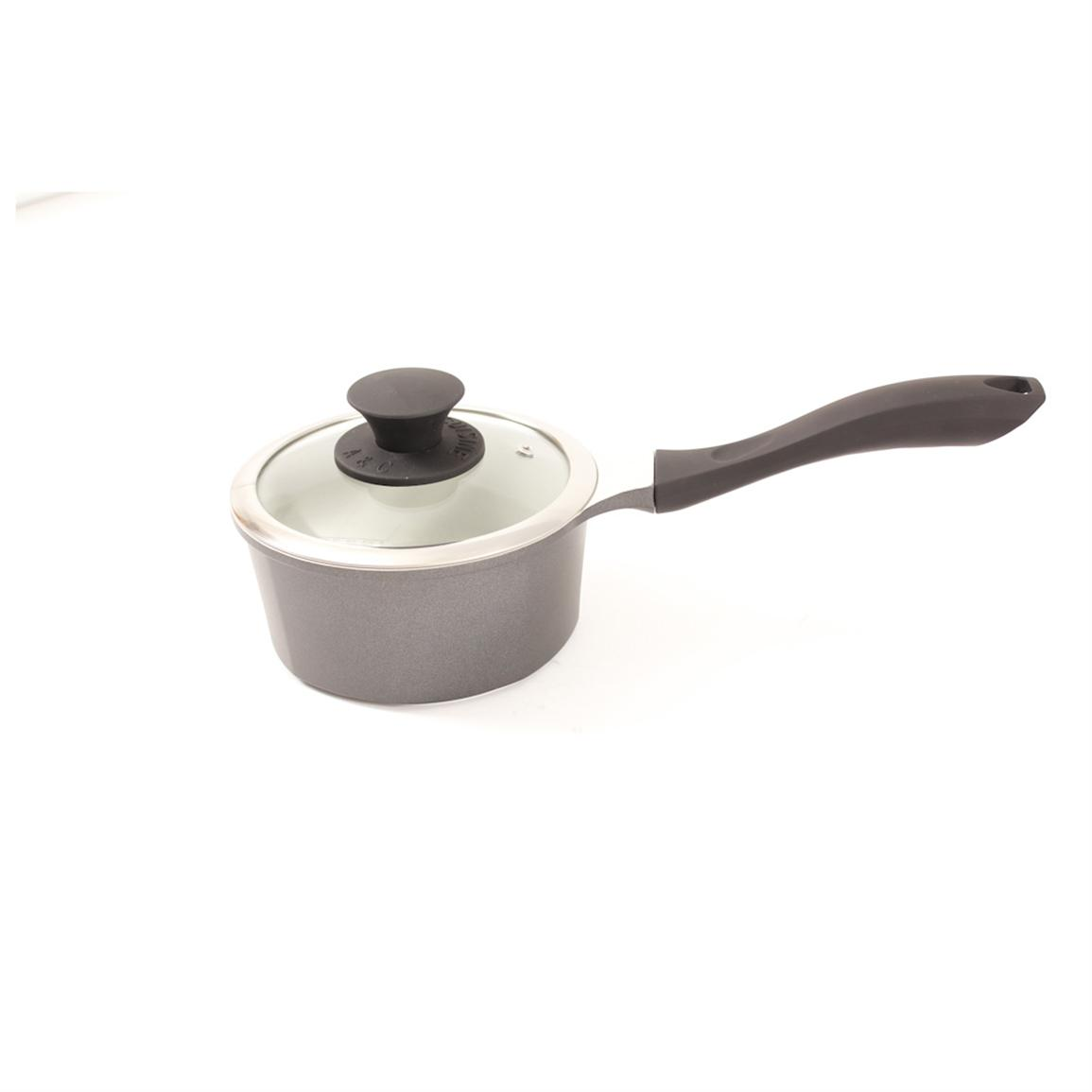 art cuisine stone saucepan with lid 307322 cookware