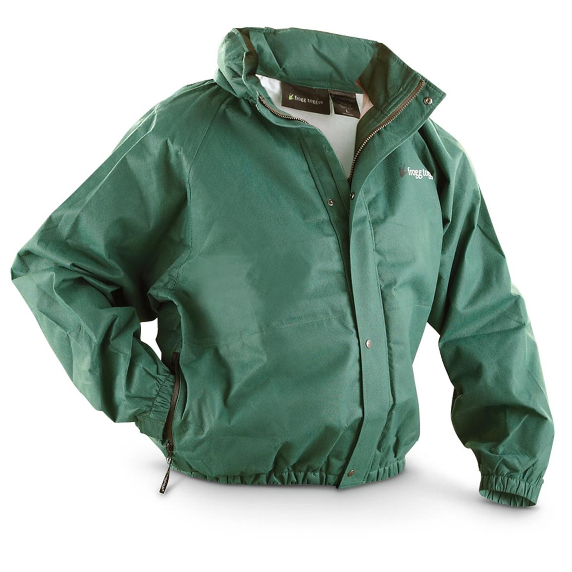 frogg toggs® Bull frogg™ Waterproof Breathable Jacket, Green