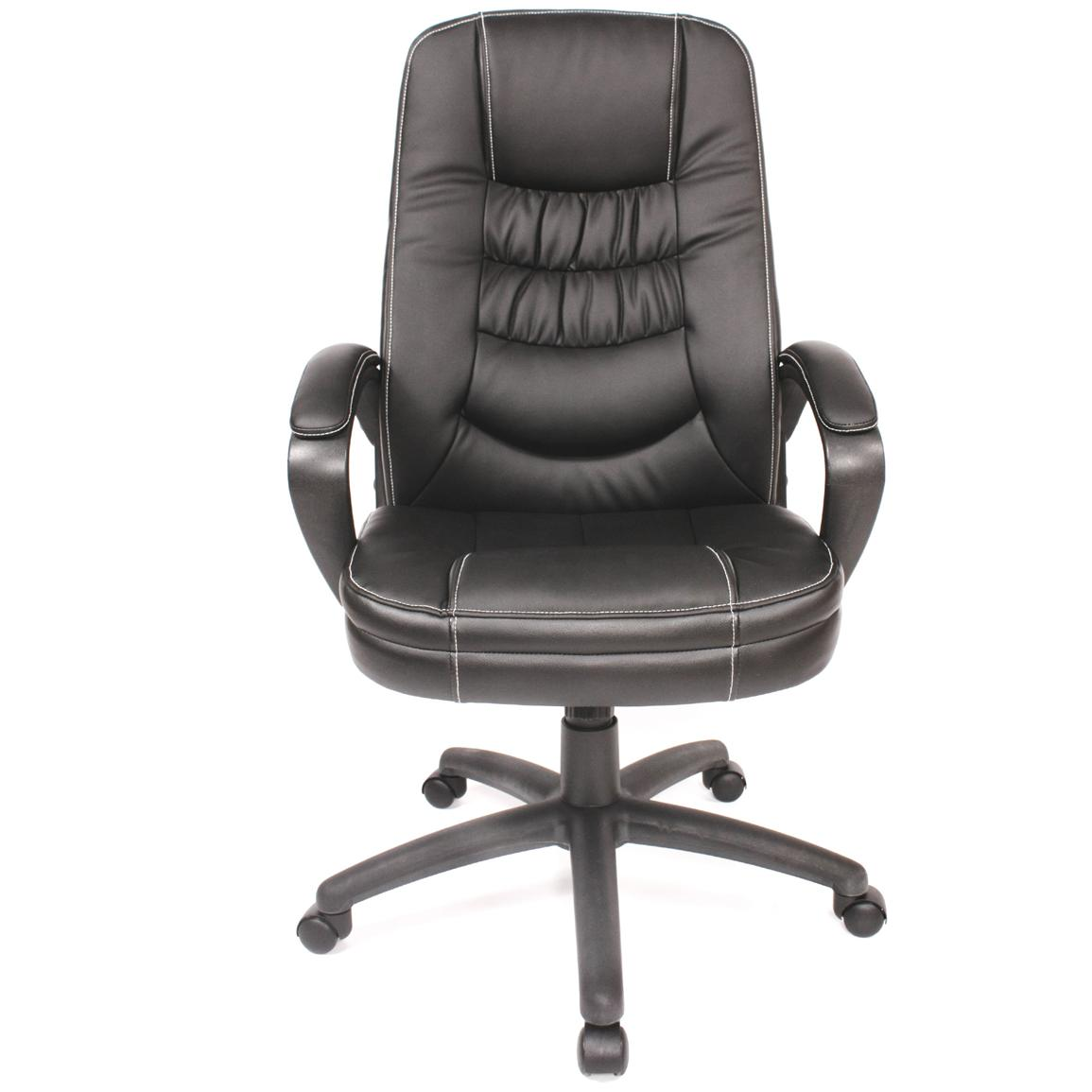 Comfort Products Soft Touch High Back Leather Office Chair Front