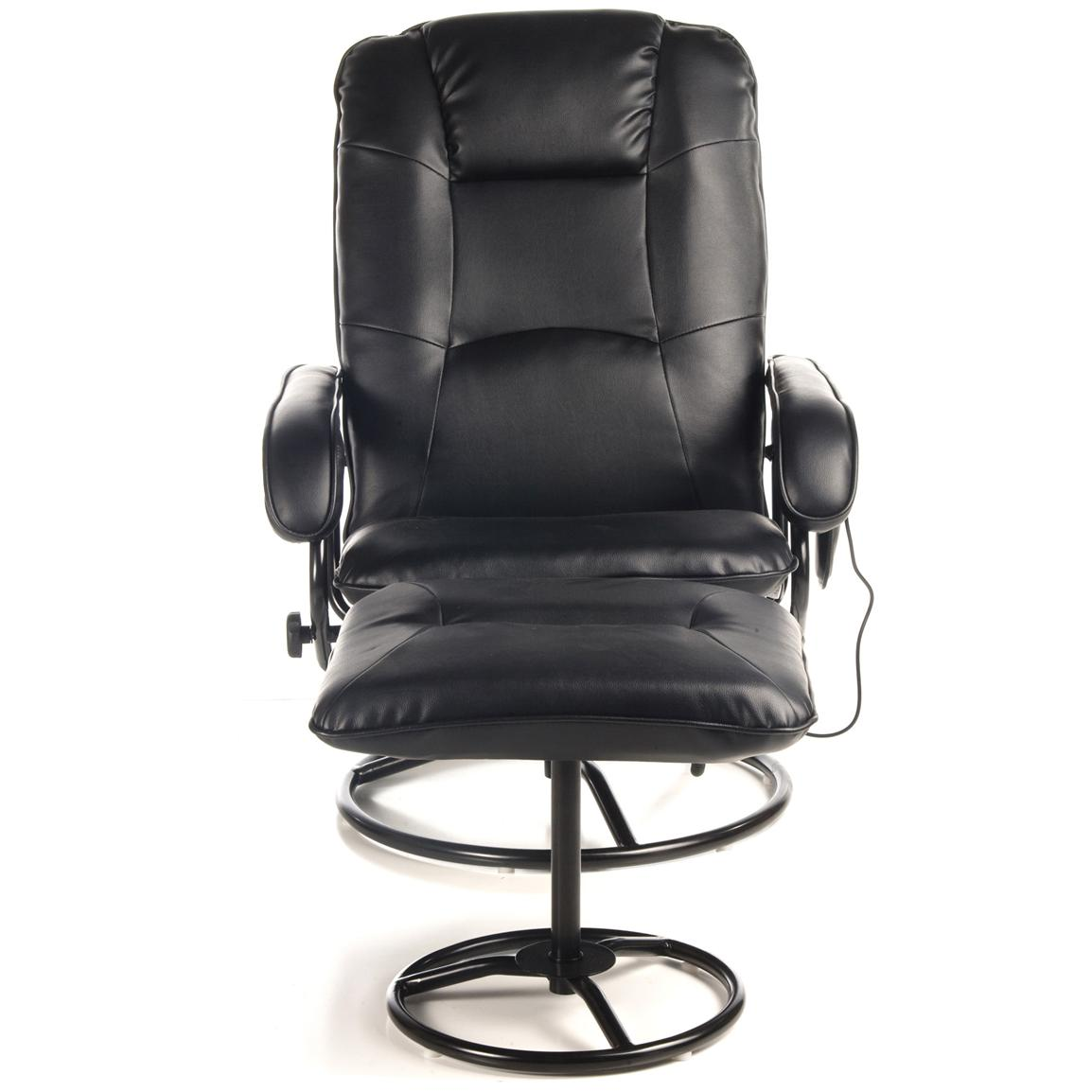 Comfort Products Leisure Recliner with 10-Motor Massage and Heat, Front