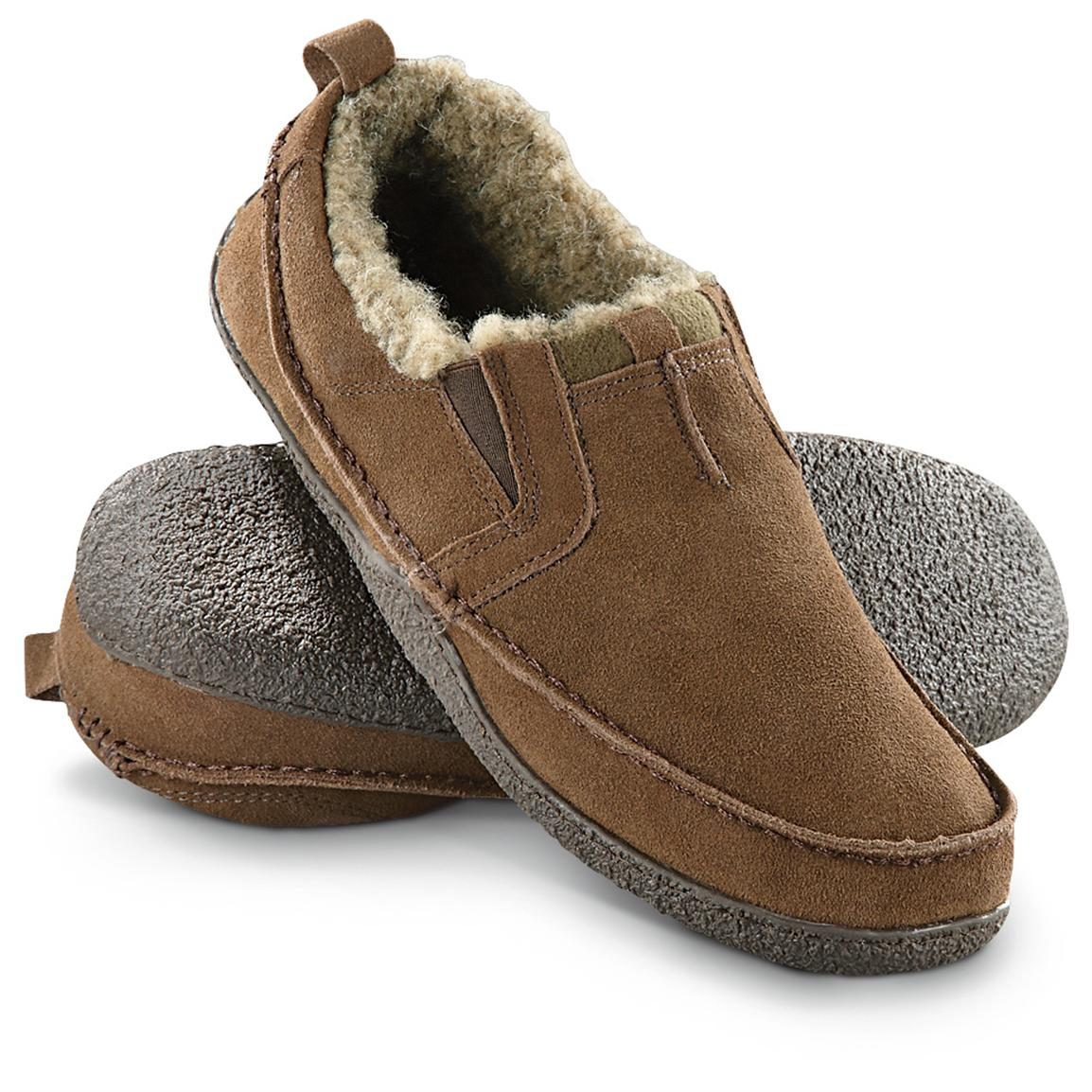 Men's Guide Gear® Casual Mocs, Sage