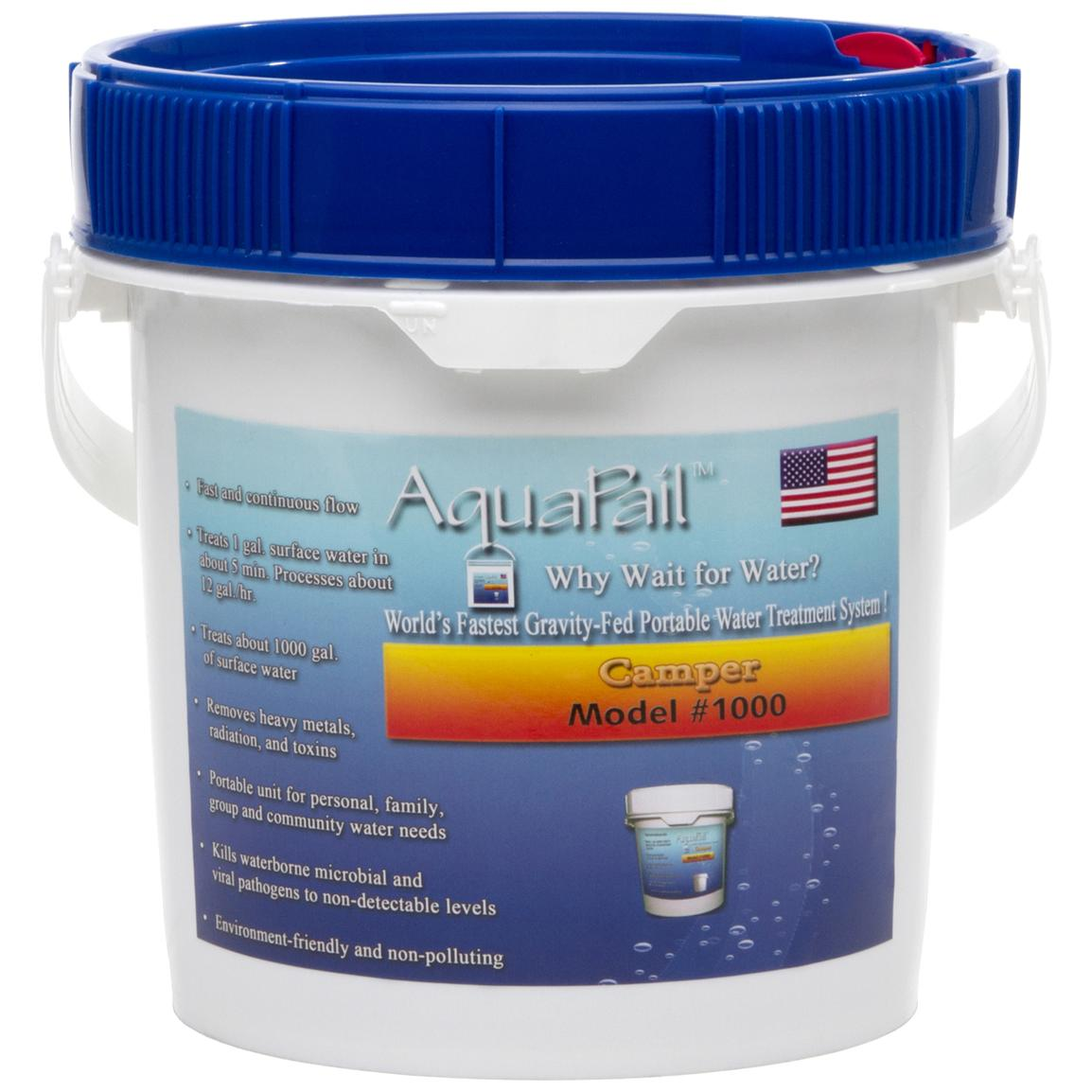 Kelly Kettle® AquaPail™ Camper Water Filter
