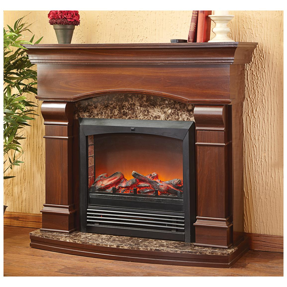 CASTLECREEK Estate Electric Fireplace