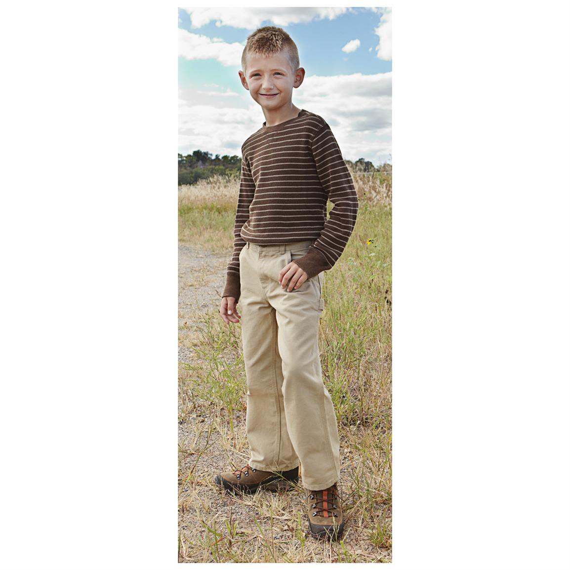 Boys' Carhartt® Washed Duck Dungarees