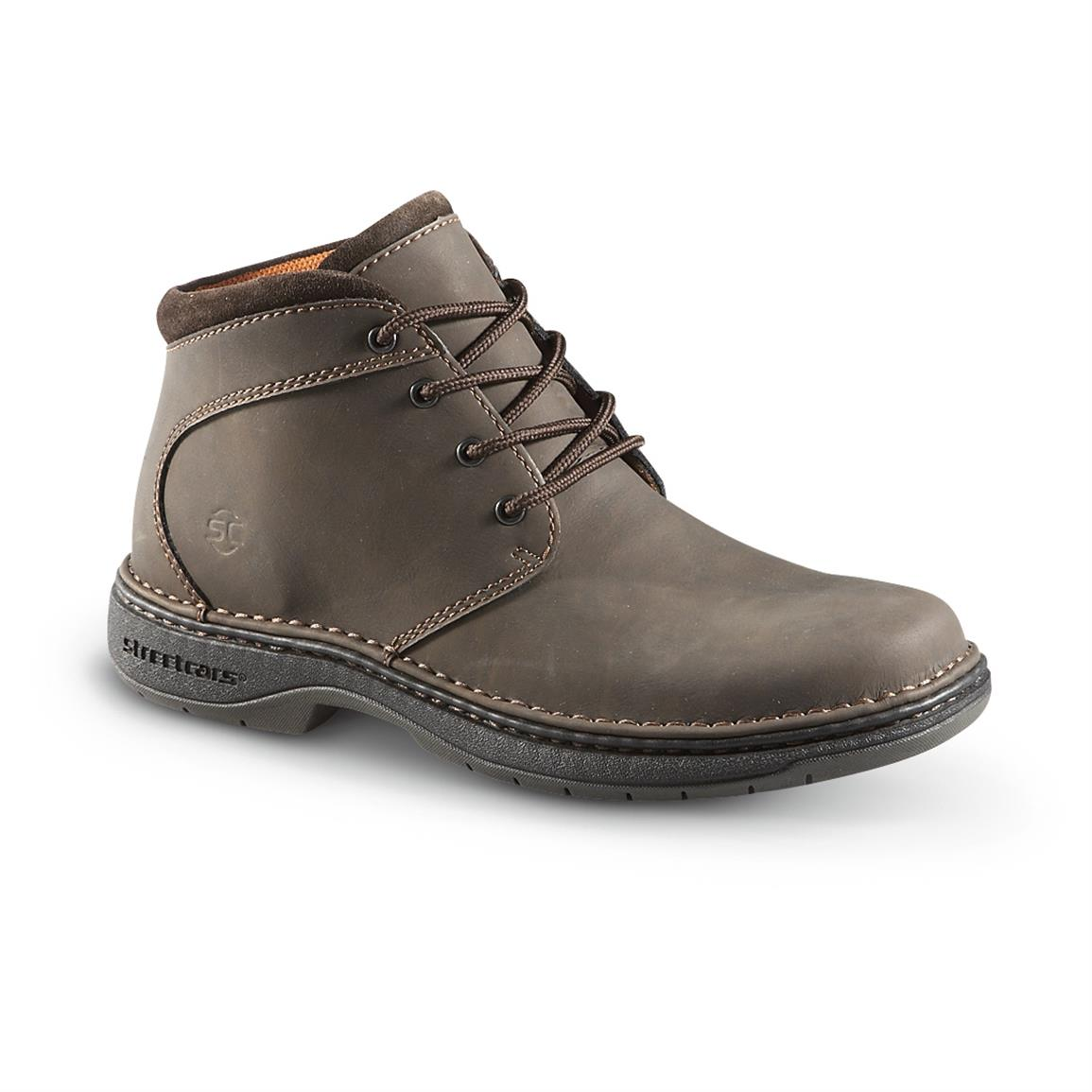 Streetcars Men's Mesa Chukkas, Dark Brown