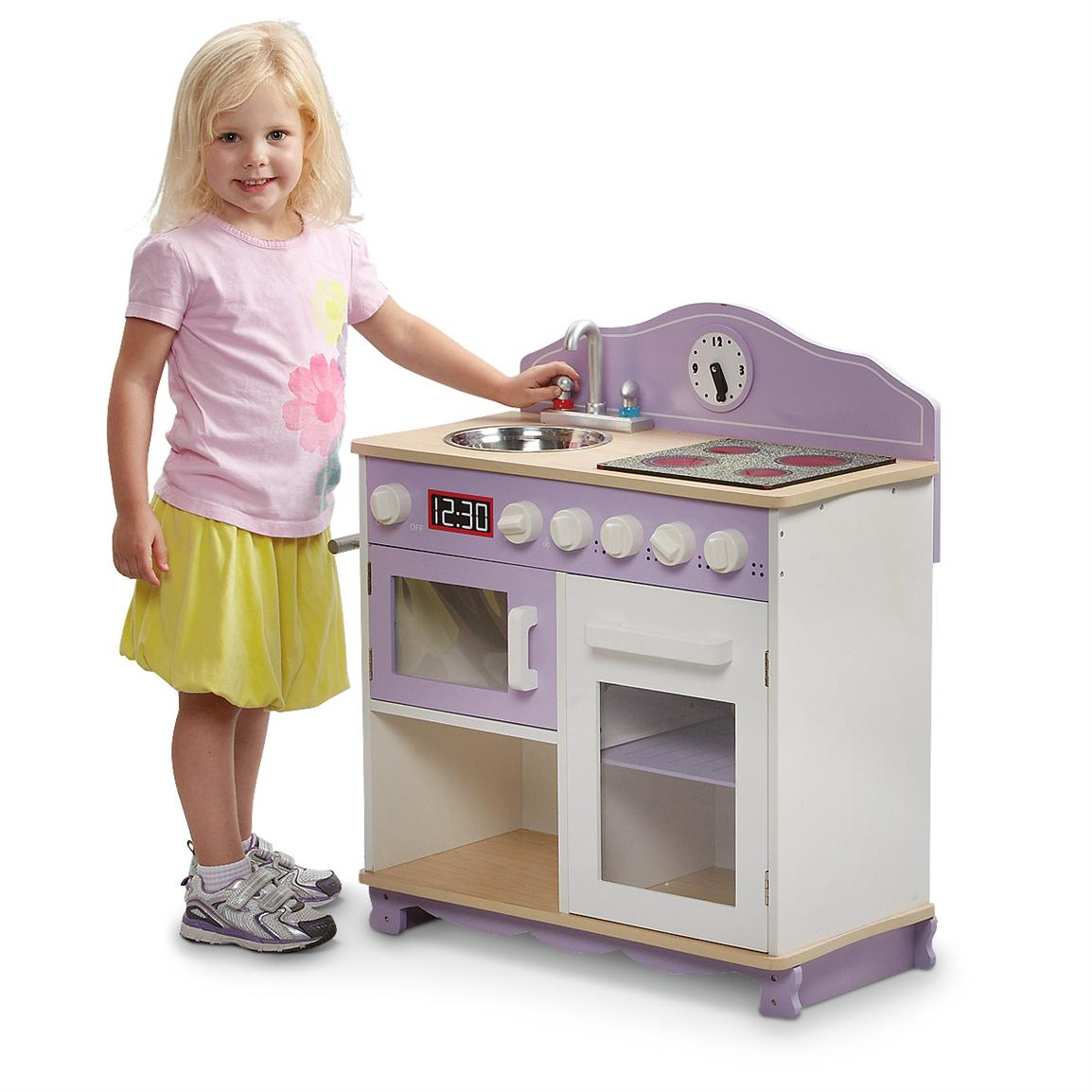 My Little Play Kitchen, Purple • She'll love cooking up some fun in her very own Kitchen!