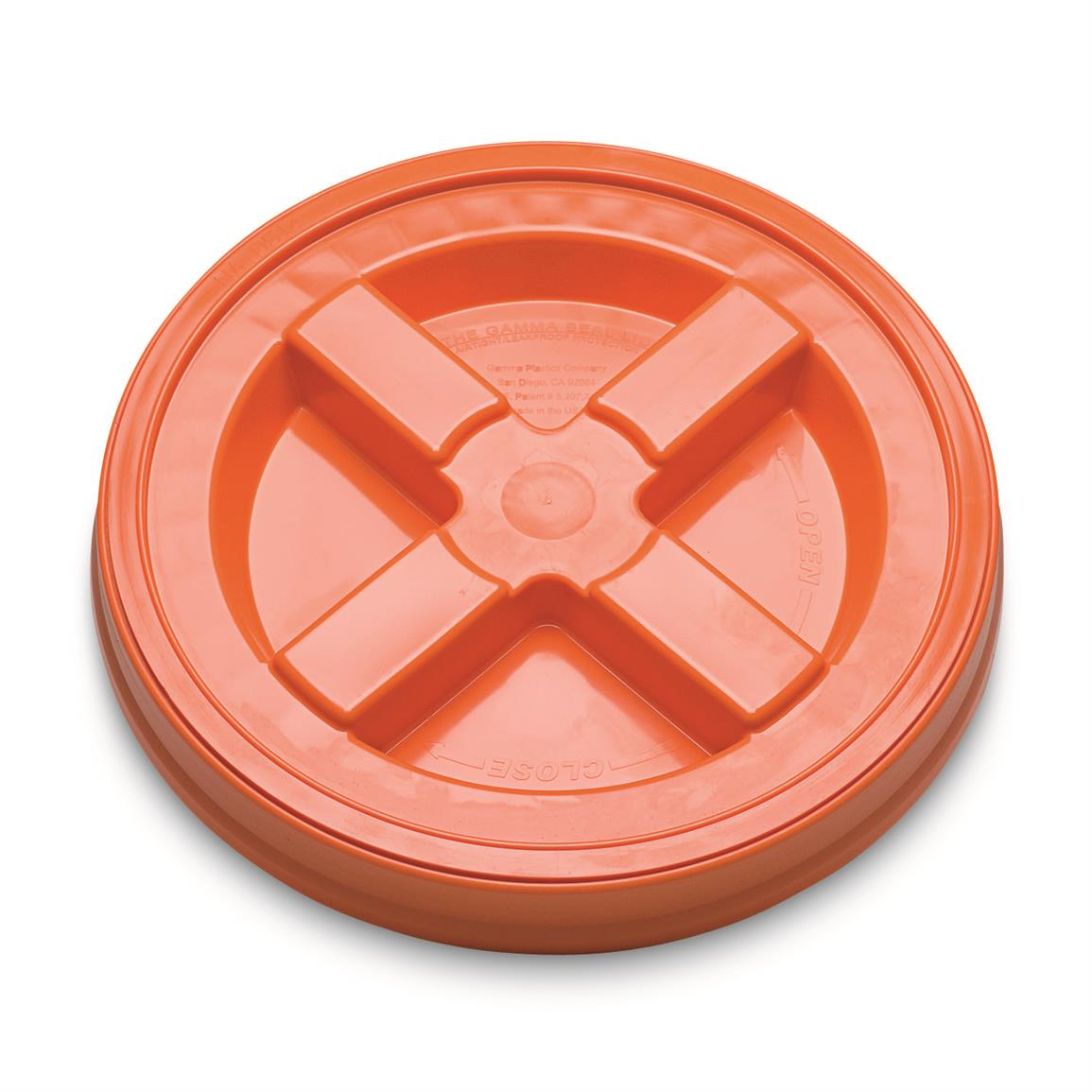 Gamma Seal Lid, Blaze Orange