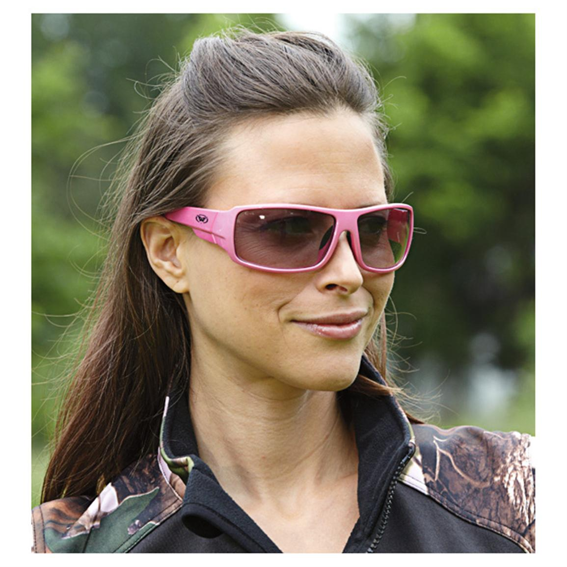 "2 Prs. ""Fight Back"" Sunglasses, Pink"