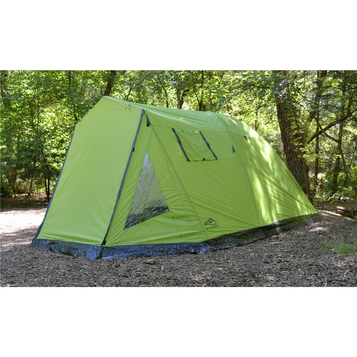 Big River Outdoors 6-Person Lake Creek Tent