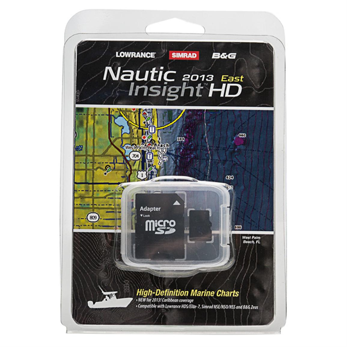Lowrance® Lake Insight HD 2013 East Map Card
