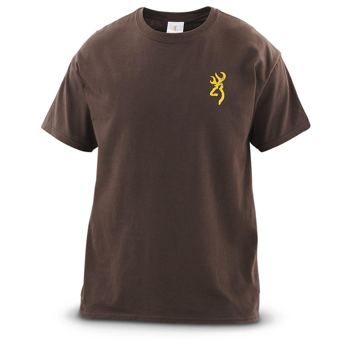 Browning® Graphic T-shirt, Chocolate