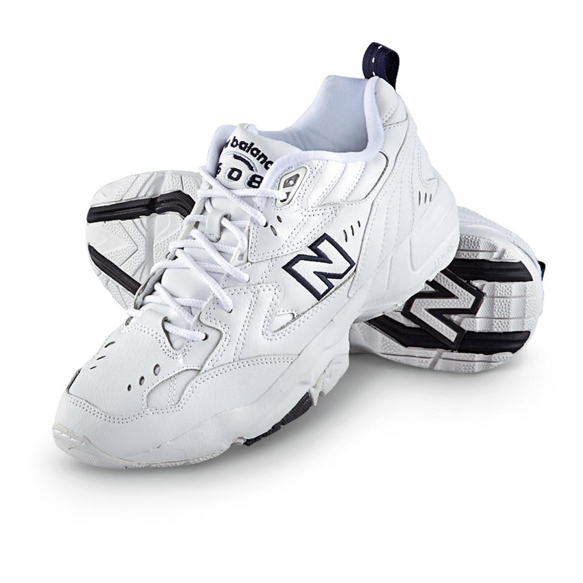 Men's New Balance 608 Athletic Shoes, White