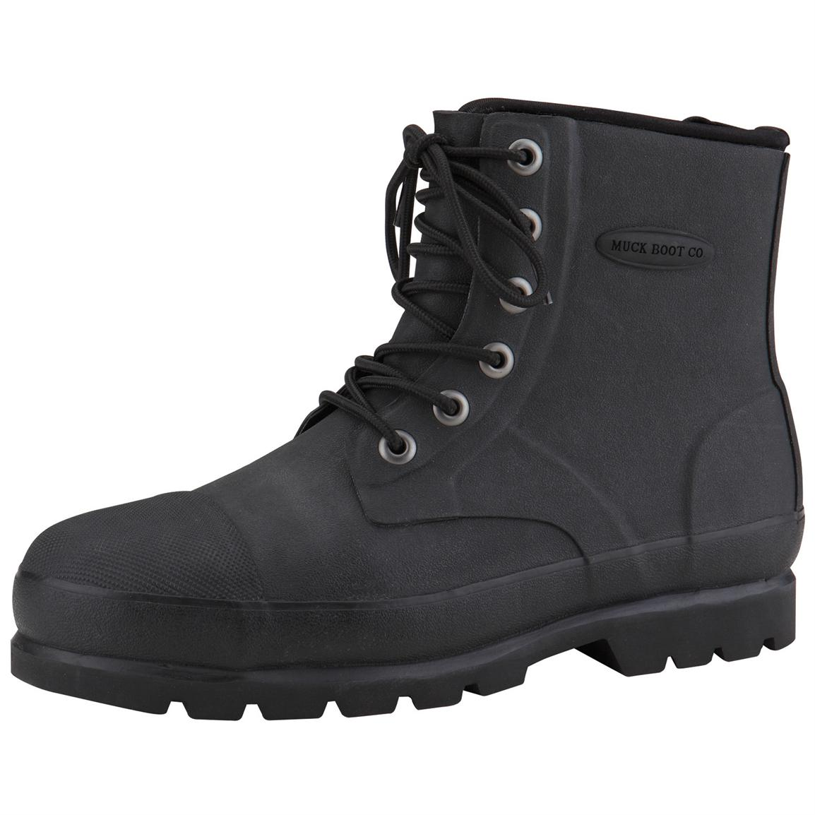 Men's Muck Boots™ Foundation Waterproof Steel Toe Work Boots ...