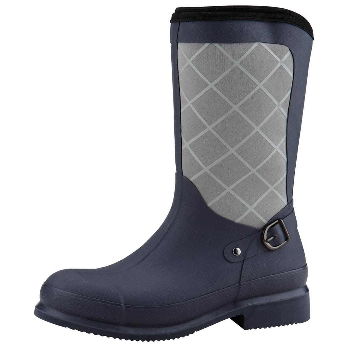 Women's Muck® Boots Pacy Mid Equestrian Boots, Navy / Gray