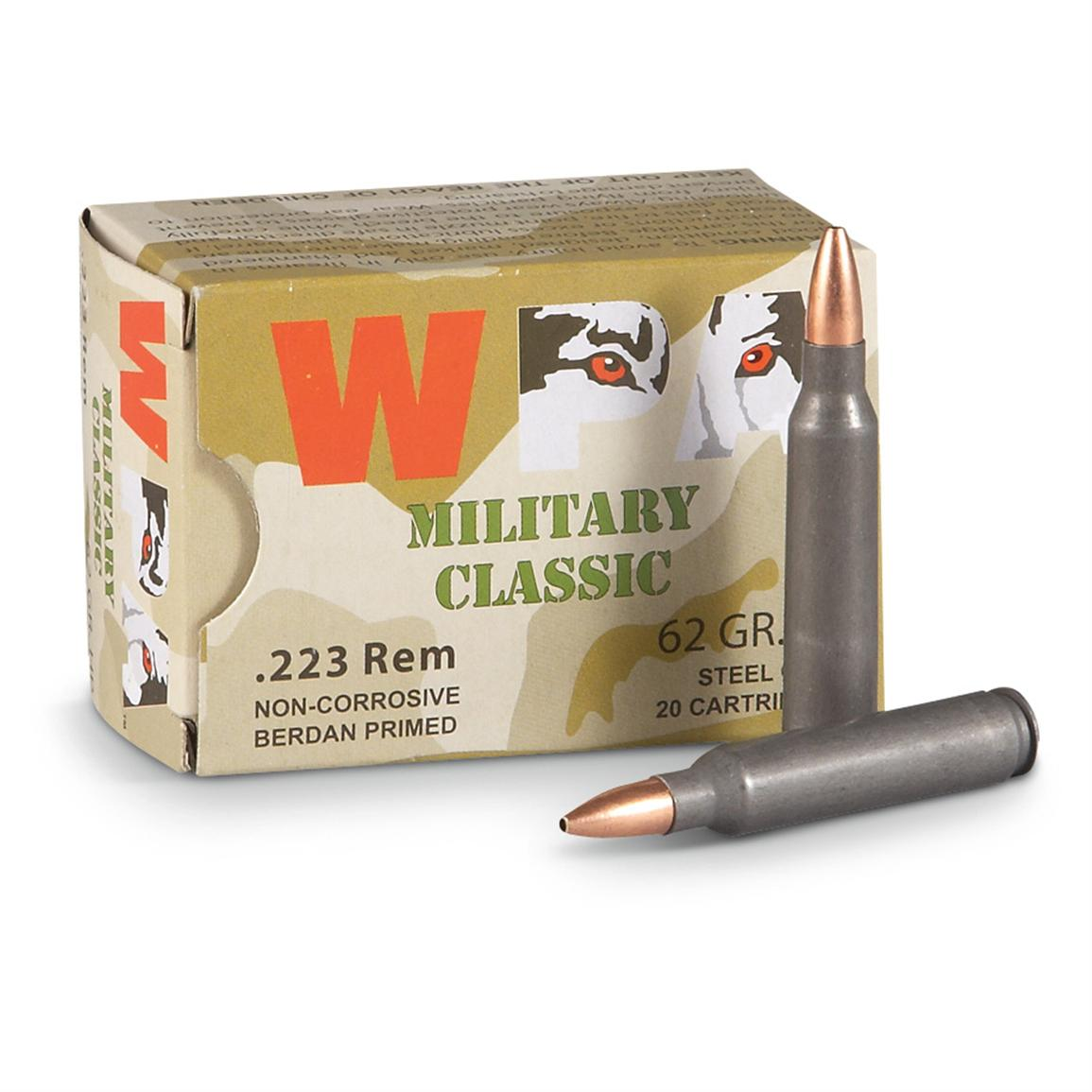 Wolf, .223, HP, 62 Grain, 200 Rounds