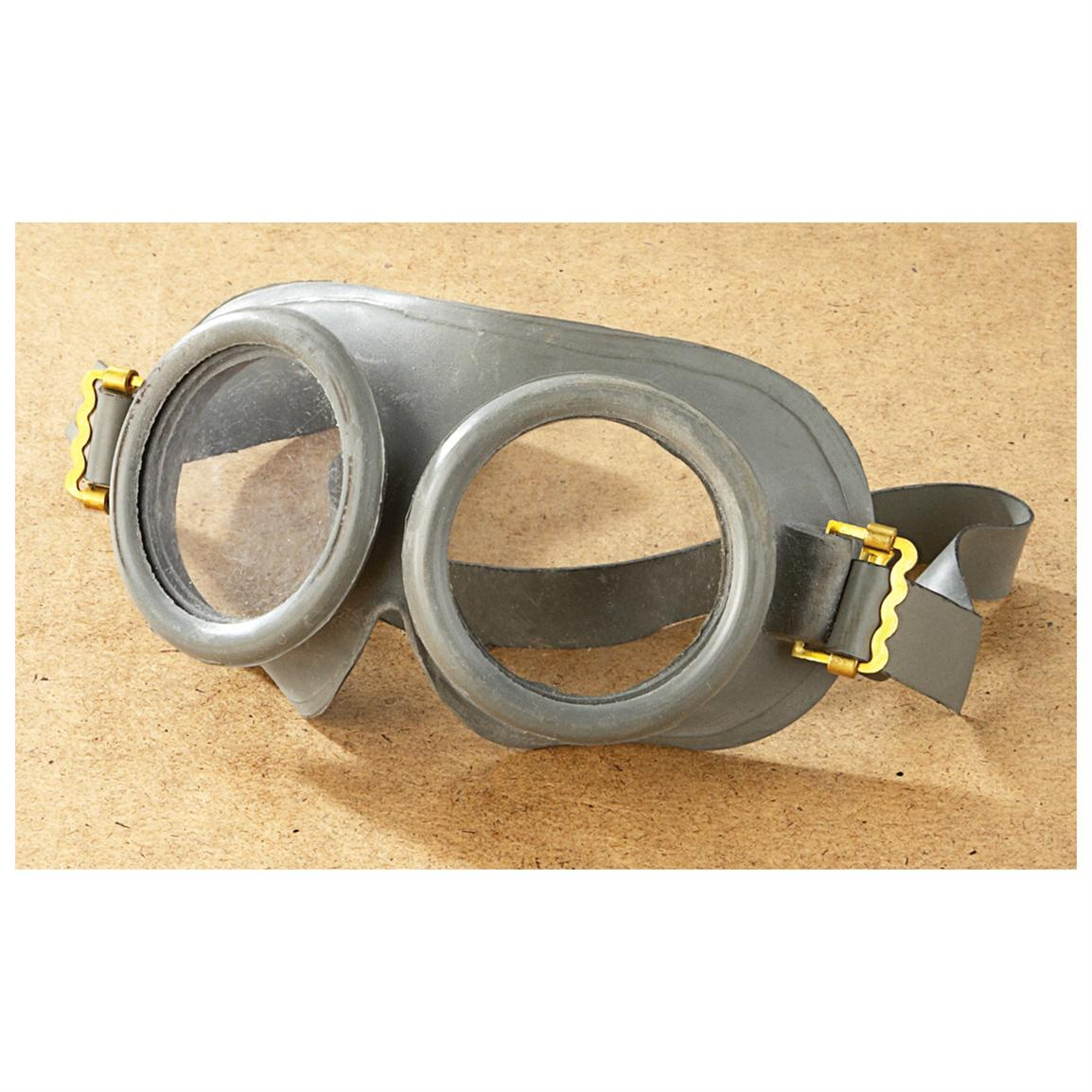 NATO Military Surplus Goggles, 2 Pack, New