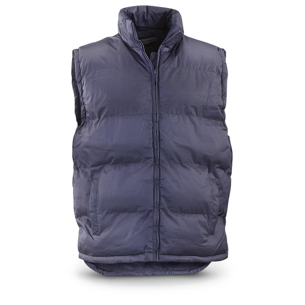Sportier® Poly-filled Vest, Navy